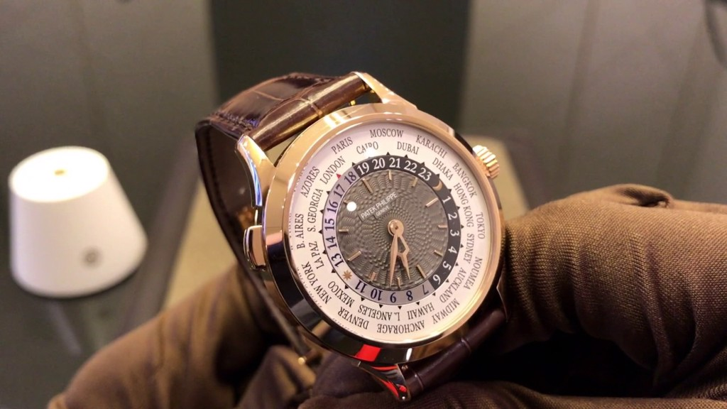 Patek Philippe 5230R-001 World Time 18k Rose Gold