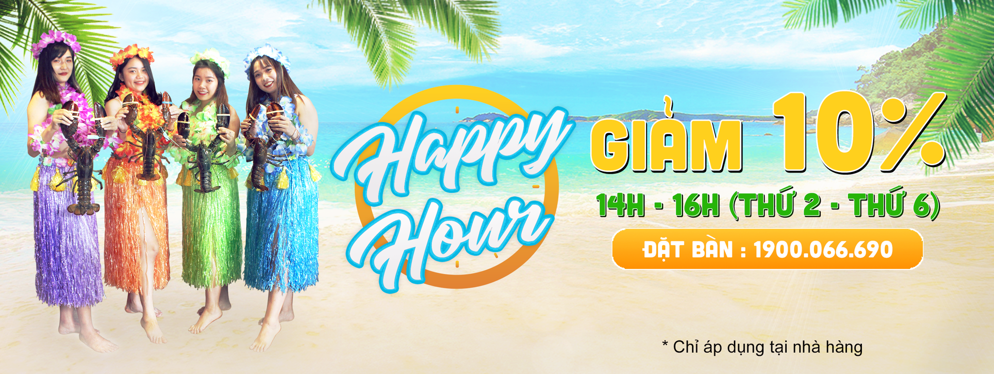 Happy Hour - Giảm 10%