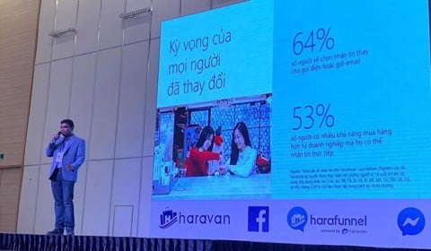 Haravan phối hợp cùng Facebook tổ chức Messenger Marketing & Chatbot Summit 2019