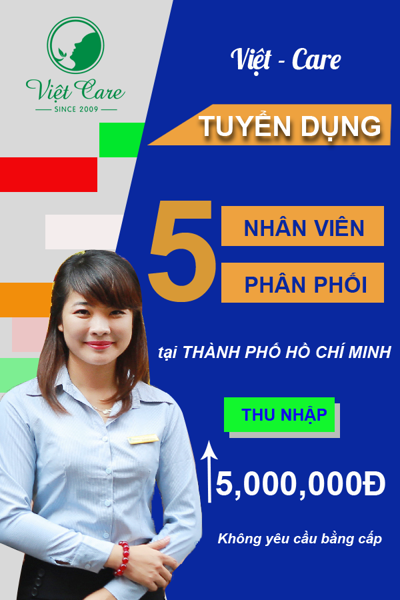 Việt-Care tuyển dụng