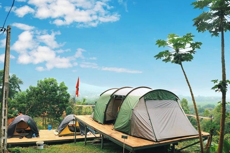 Khu cắm trại Hàm Lợn Sóc Sơn
