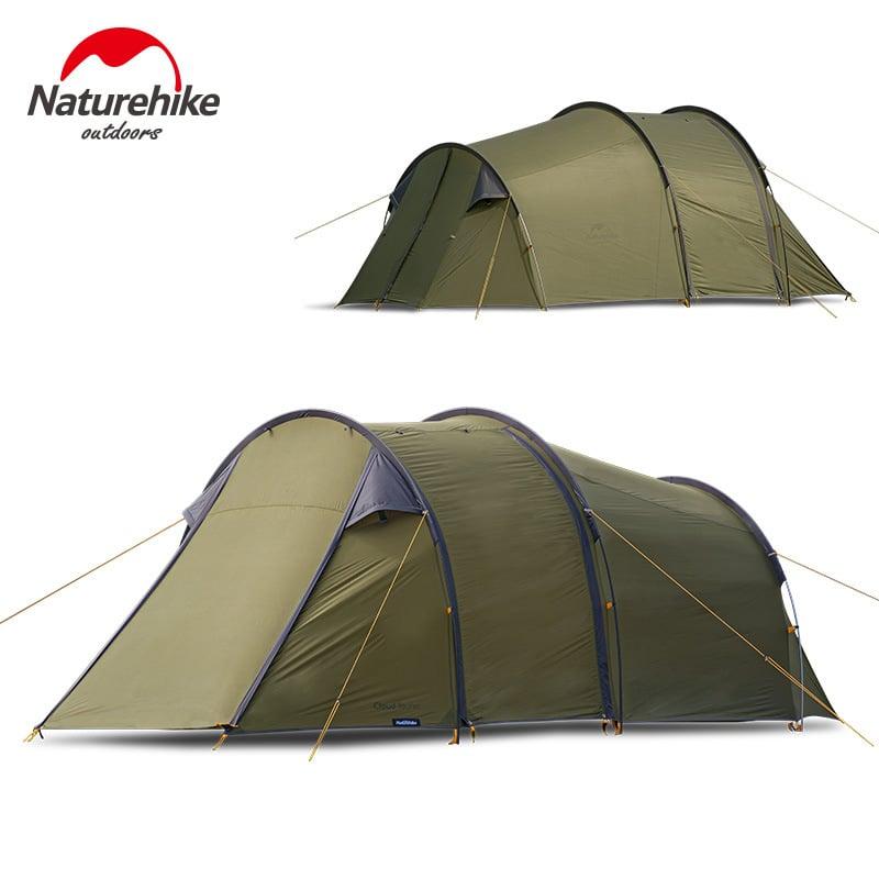 Lều 2 người Naturehike NH19ZP013 màu xanh rêu rộng lớn, chắc chắn