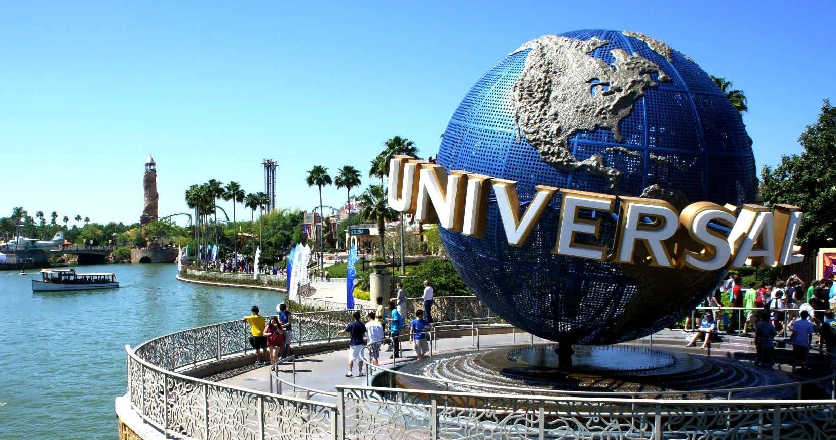 Quả cầu Universal Studio - biểu trưng của hãng phim nổi tiếng