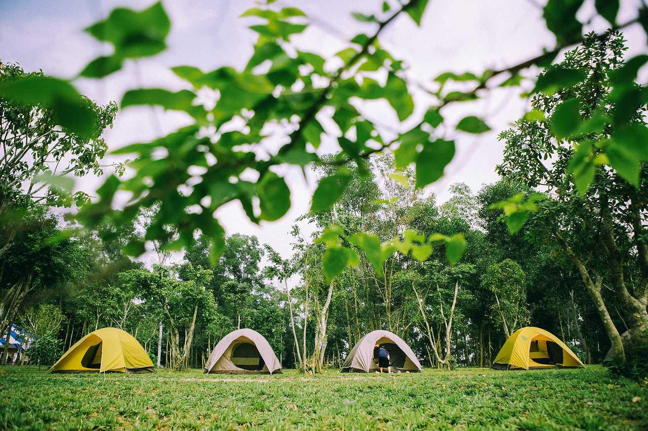 khu cắm trại camping sport cách Hà Nội chỉ 40km
