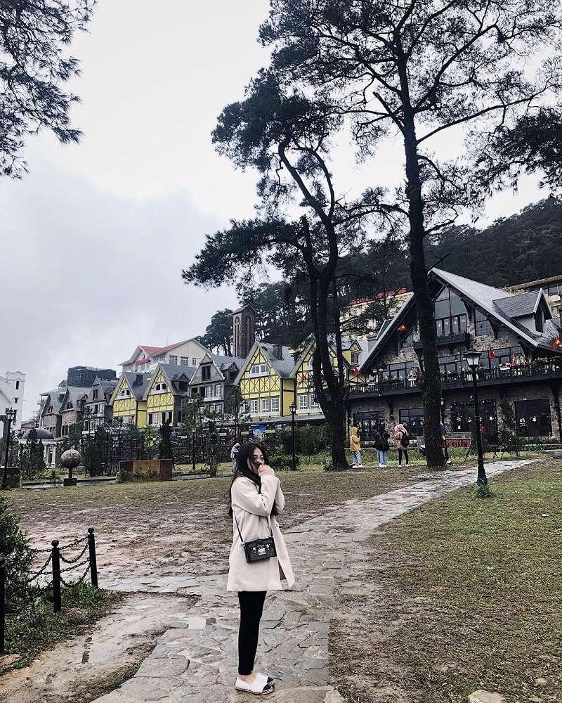 Thị trấn Tam Đảo trong sương lãng mạn, huyền ảo