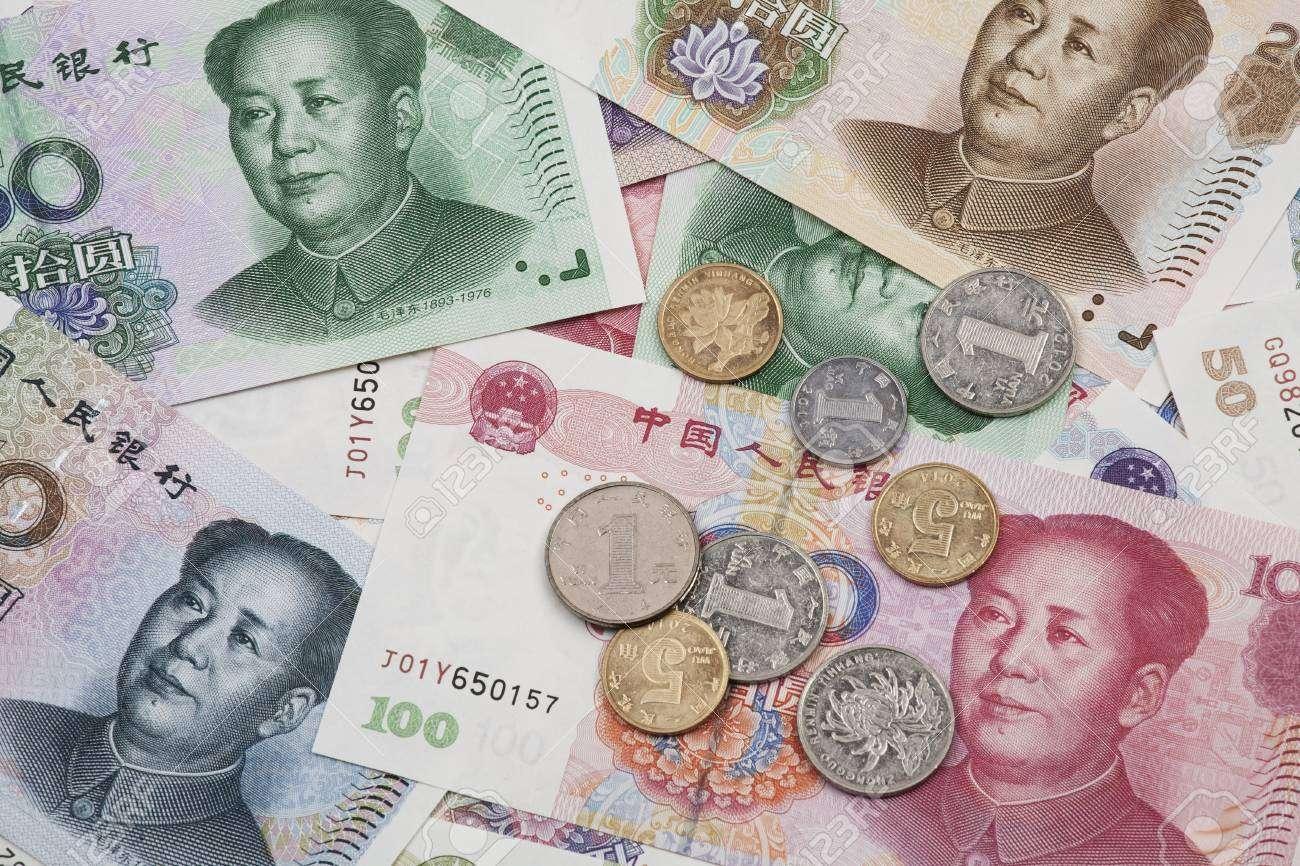 Tiền giấy và tiền xu Trung quốc có nhiều mệnh giá và màu sắc khác nhau