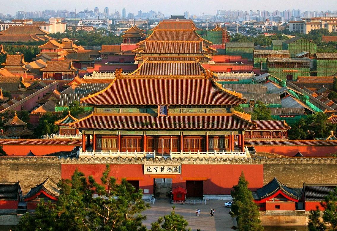 Quần thể kiến trúc Tử Cấm Thành đậm nét Trung Hoa mang vẻ uy nghi, tráng lệ