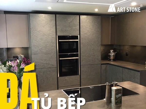 Đá mỏng trang trí cho tủ bếp - Art Stone
