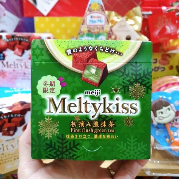 Chocolate Meiji Meltykiss Matcha vị Trà xanh 56gr