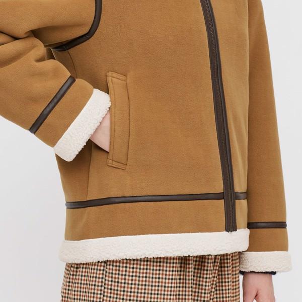 Áo khoác lông cừu Uniqlo mã 430812