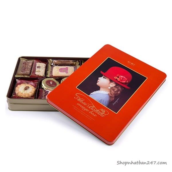 Bánh quy hộp cao cấp Akai Bohshi - 4975186142034