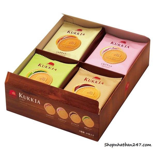 Bánh quy hộp KUKKIA cao cấp 20 bánh - 4975186164906