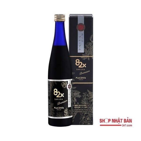 Nước Uống 82X Placenta Sakura Nhật Bản mẫu 2020