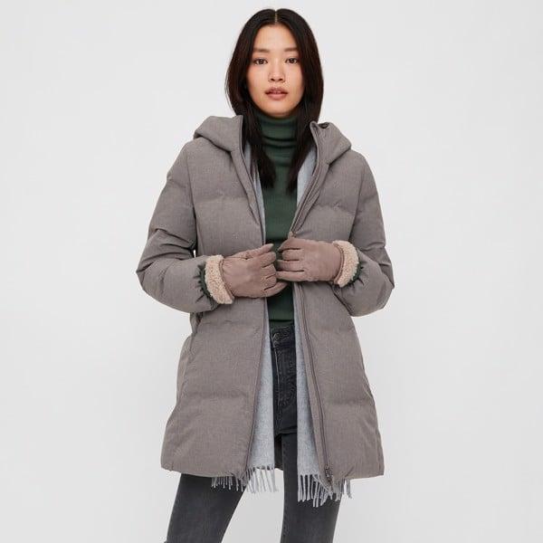 Áo khoác lông vũ nữ đại hàn Seamless Down Uniqlo Nhật Bản - 429467