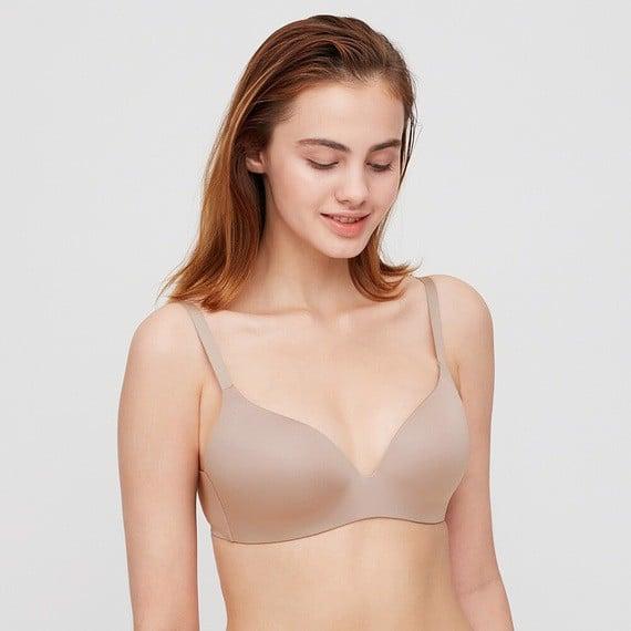 Áo ngực (áo lót) Uniqlo không gọng siêu nhẹ Nội địa Nhật mẫu mới