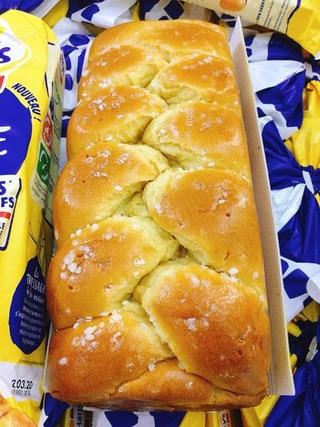 Bánh mì Hoa cúc Harrys Brioche Tressée 500gr - Nhập khẩu Pháp