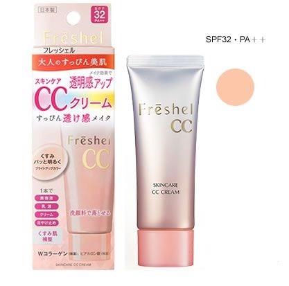 Kem trang điểm CC Kanebo Freshel CC cream SPF 32 PA++
