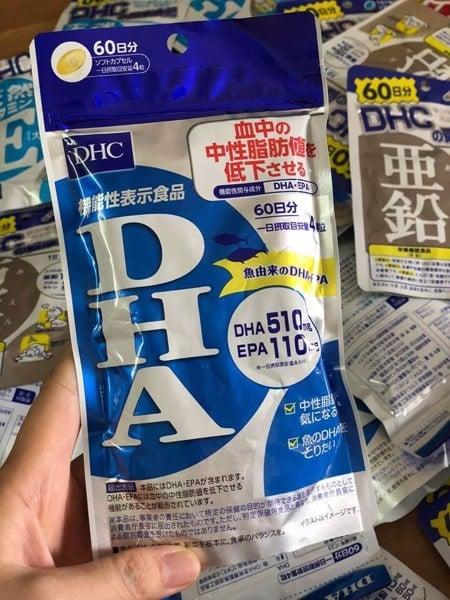 Viên Uống Bổ Sung DHA DHC Nhật Bản 240 viên