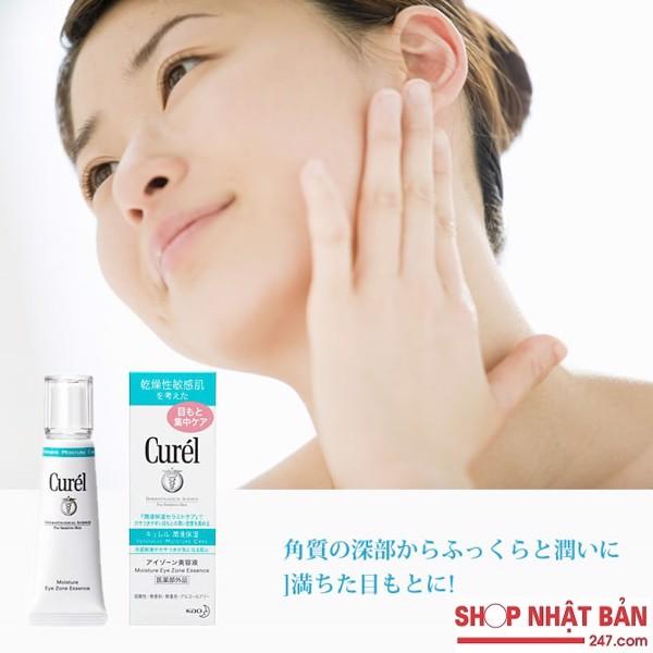 Kem dưỡng chống thâm quầng mắt Curel Moisture Eye Zone Essence