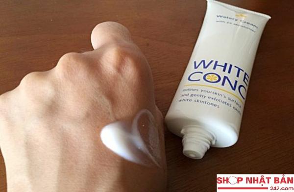 Kem dưỡng thể làm trắng da ban đêm White Conc Watery Cream