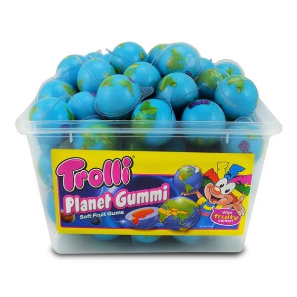 Hộp 60 viên Kẹo dẻo Trolli Planet Gummi hình Quả địa cầu