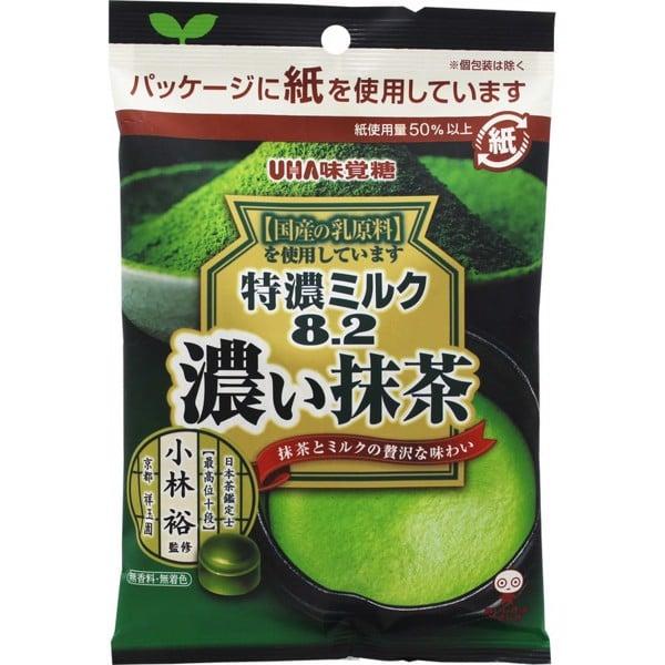 Combo 6 gói Kẹo Tokuno UHA 8.2 vị sữa trà xanh