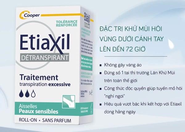 Lăn Khử Mùi Etiaxil 3614819997108