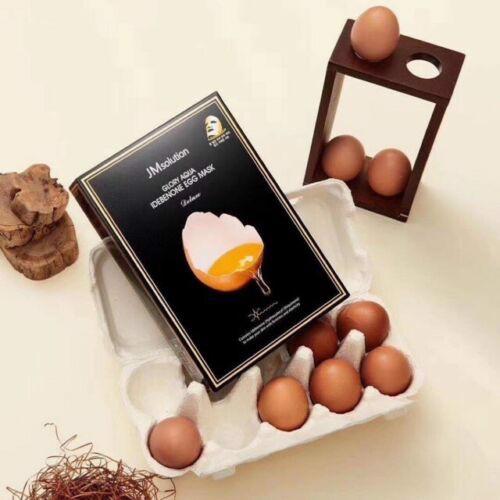 Mặt Nạ JM Solution Glory Aqua Idebenone Egg Mask Deluxe 30ml