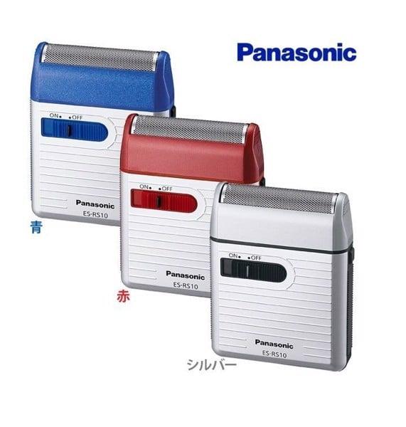 Máy cạo râu Panasonic ES-RS10 (Trắng - xanh - đỏ - Made in Japan)
