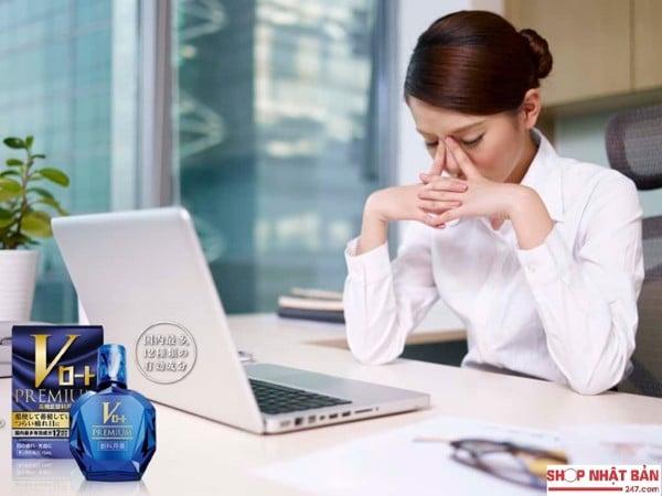 Nhỏ Mắt Rohto V-Premium 15ml