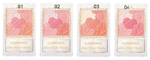 Phấn má hồng Canmake Glow Fleur Cheeks Nhật Bản