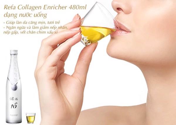 Refa Collagen 16 Enrich dạng nước uống Nhật Bản