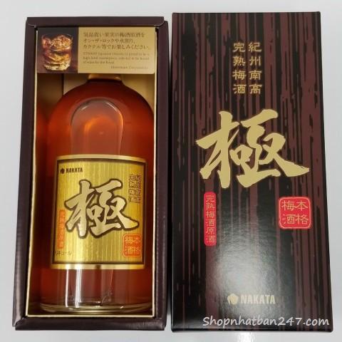 Rượu Mơ vảy vàng Nakata Nhật Bản 750ml - 4573259037500