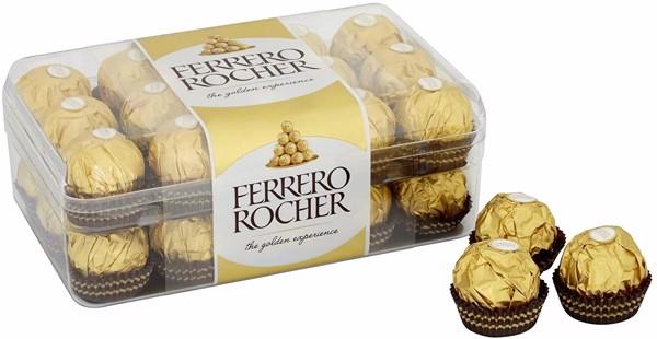 Chocolate Ferrero Rocher 375g (30 Viên)
