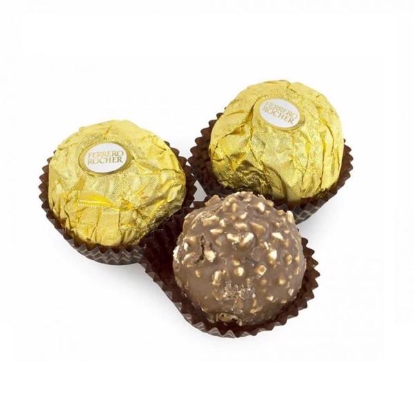 Sô cô la nhân hạt dẻ Ferrero Rocher 16 viên 200g - 4008400163826