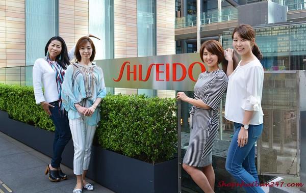 The Collagen Shiseido dạng bột mẫu mới màu tím