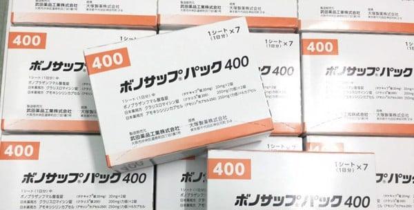 Thuốc trị vi khuẩn HP dạ dày TAKEDA Nhật Bản