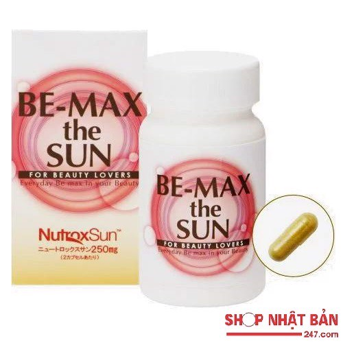 Viên uống chống nắng Be-Max The Sun For Beauty Lovers