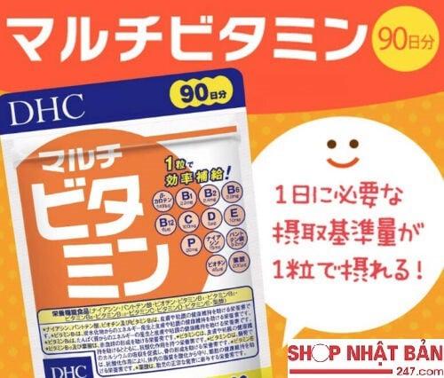 Viên uống bổ sung Vitamin tổng hợp DHC 90 ngày 4511413403976