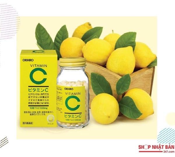 Viên uống bổ sung Vitamin C Orihiro 4971493102112