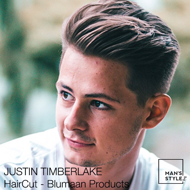 JUSTIN TIMBERLAKE HairCut * Blumaan products * Meraki and Monarch