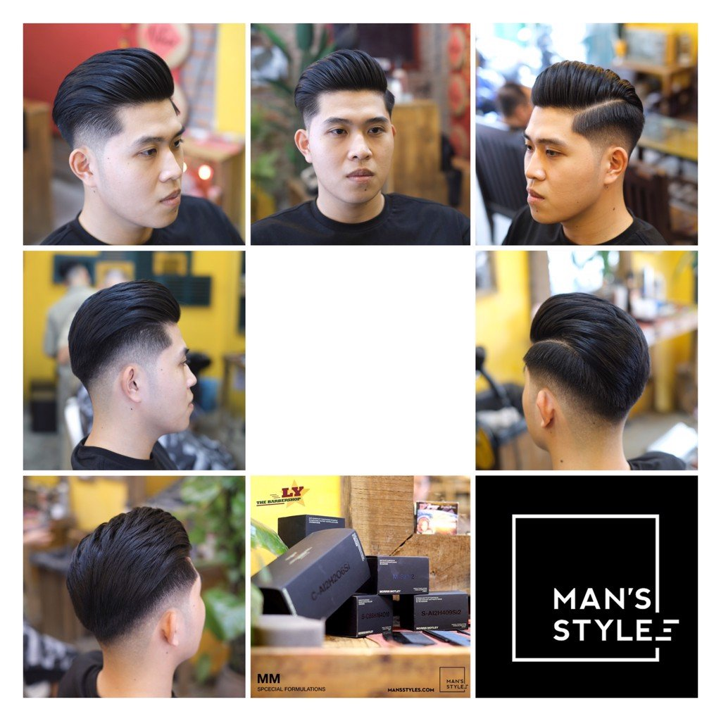 MORRIS MOTLEY 2020 * Ly The BarberShop * MODERN POMPADOUR HairStyle * Kiểu tóc HOT 2020 * MAN'S STYLES