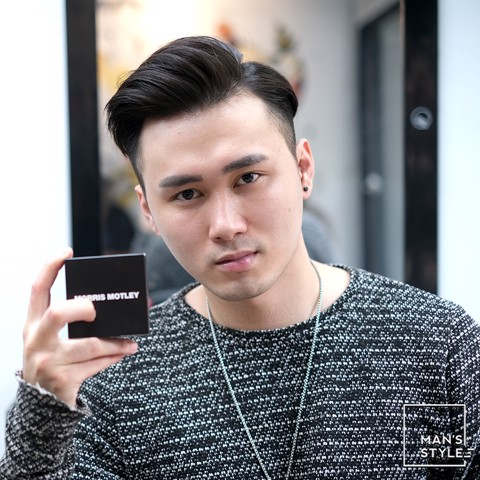 Zuy Minh Salon * 2019 * MORRIS MOTLEY * TSB02 * Modern Side Part Hairstyle