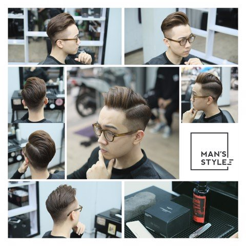 MORRIS MOTLEY - Zuy Minh HairSalon - Modern Pompadour HairStyle - Huy Quốc