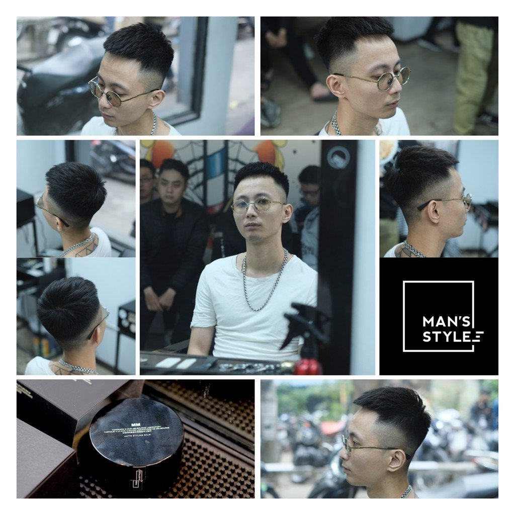 MORRIS MOTLEY - Zuy Minh HairSalon - Rhymastic - Crop HairStyle