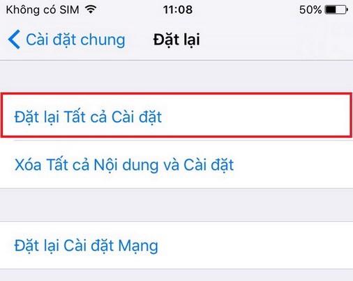 di động v24h Mẹo reset iPhone mà không bị mất dữ liệu đơn giản nhất ảnh 4