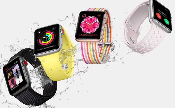 chống nước Apple Watch Series 3 GPS 38mm