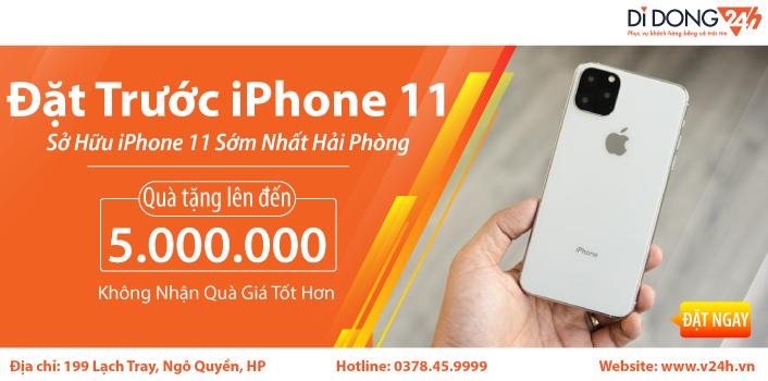 Nhanh tay đặt trước iPhone 11 - Nhận quà tặng lên tới 5 triệu ảnh 1