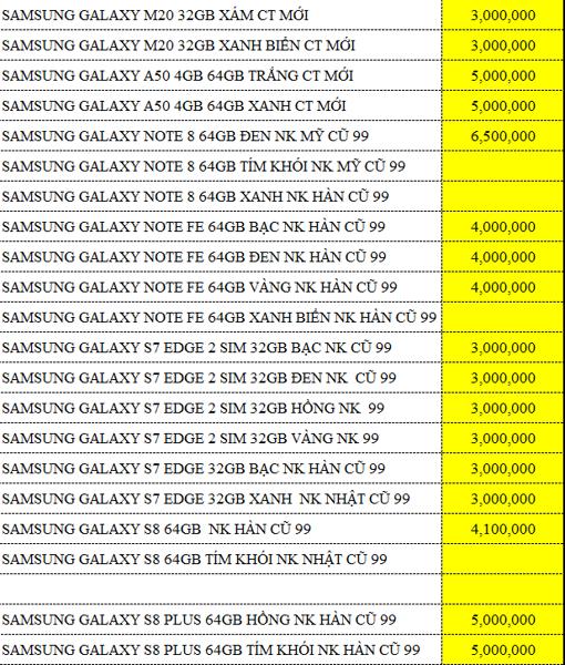 Bảng giá thu mua máy cũ, lên đời máy mới tiết kiệm hàng triệu đồng tại Di Động V24h ảnh 6