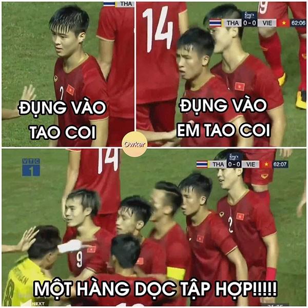 """di động v24h Ảnh chế  """"Nồi lẩu Thái"""" của thầy trò HLV Park Hang-seo ảnh 7"""